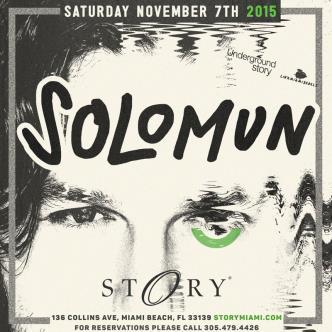 Solomun #UndergroundStory-img