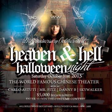 21st Anniversary Heaven & Hell - LA Halloween