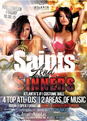 Saints & Sinners Atlanta Halloween Ball