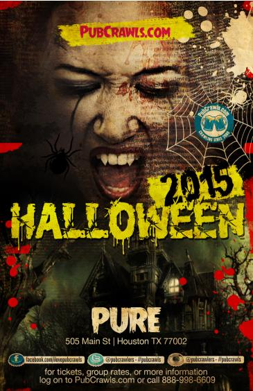 PURE Club & Lounge Downtown Houston Halloween Event