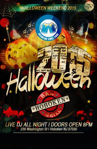 Oct 31 Hoboken Bar & Grill Hoboken Halloween
