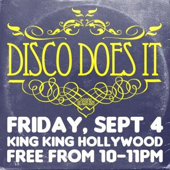 Disco Does It!  LA's Premier Disco & House Classics Party-img