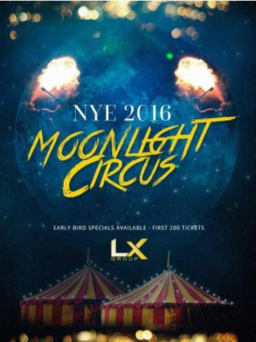 NYE Moonlight Circus 2016