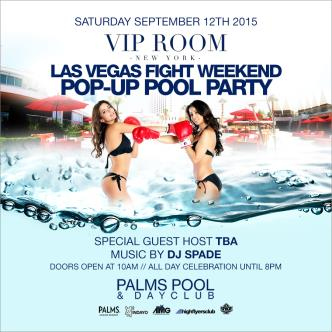 Fight Weekend at Palms Pool Las Vegas w/ Special Guest Host-img