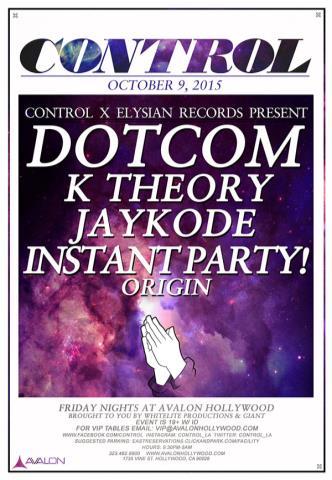 Dotcom, K Theory, Jaykode, Instant Party: Main Image