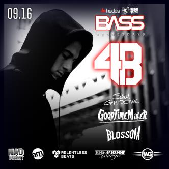 Bass Wednesdays feat/ DJ 4B-img