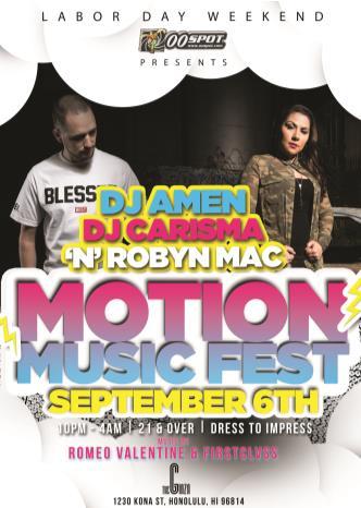 Motion Music Festival: Main Image