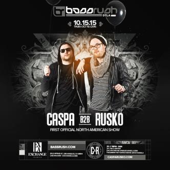Bassrush presents Caspa b2b Rusko-img