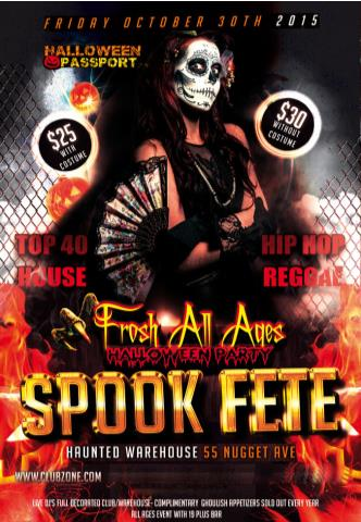 SPOOK FETE  HALLOWEEN ALL AGES/FROSH EVENT