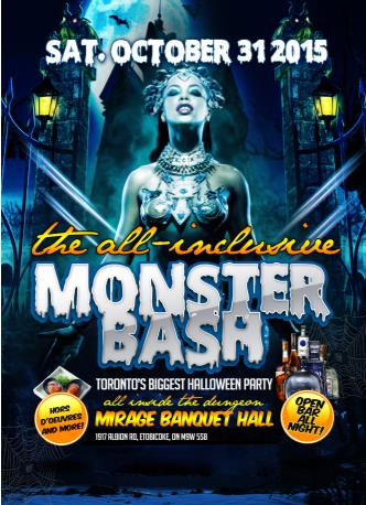 Monster Bash Halloween All Inclusive
