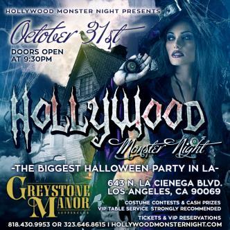 Hollywood Monster Night Halloween-img