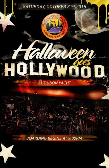Halloween Goes Hollywood Aboard The Audubon Yacht
