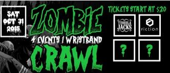 Toronto Zombie Crawl 2015 // Biggest Halloween Club Crawl