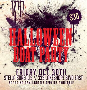 Toronto Halloween Boat Party 2015 // Friday Oct 30