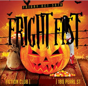 Halloween Fright Fest @ Fiction // Friday Oct 30
