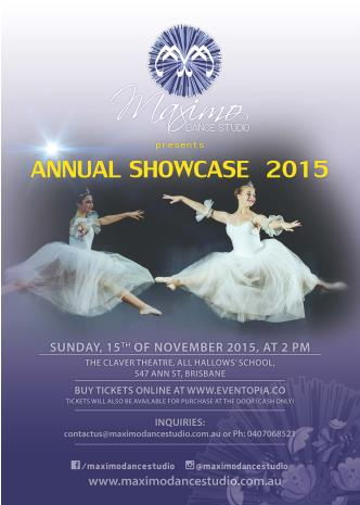 Ballet Extravaganza! Maximo Dance Studio Annual Showcase '15: Main Image