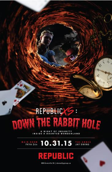 Down The Rabbit Hole // Halloween At REPUBLIC