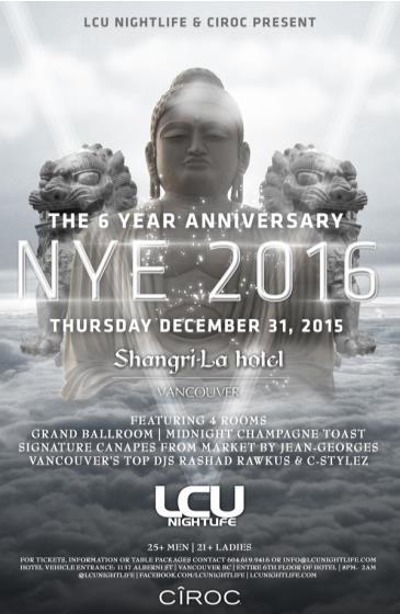 Shangri-la NYE 2016