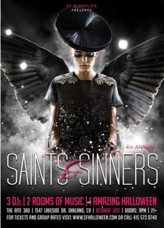 Saints Amp Sinners Halloween In Oakland