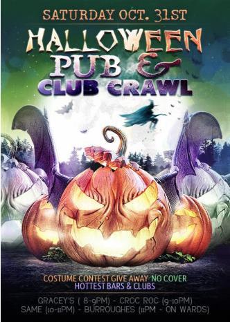 Halloween Pub & Club Crawl