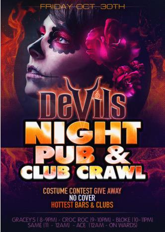 Devil's Night Pub & Club Crawl