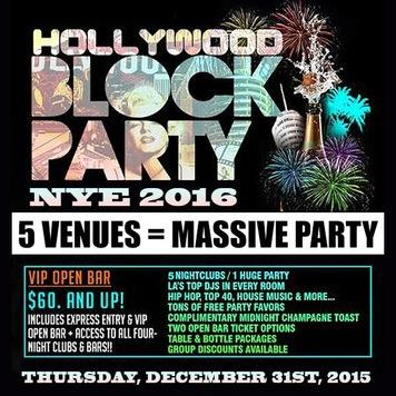 NYE Block Party 2016