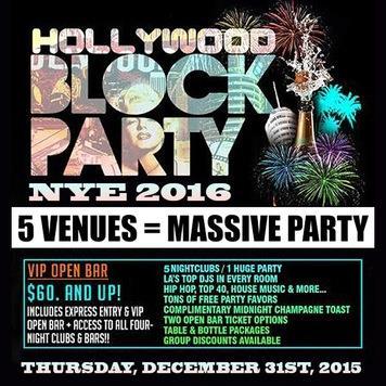 NYE Block Party 2016