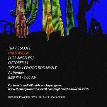 Halloween at The Hollywood Roosevelt Travis Scott Live-img