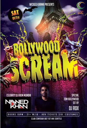 Bollywood SCREAM Halloween Party