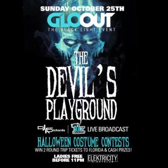 GLO-OUT - THE DEVIL'S PLAYGROUND-img