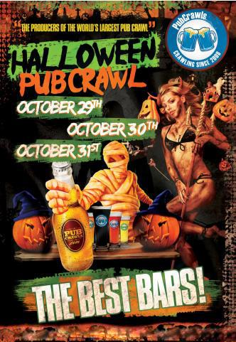 Albany Halloween Pubcrawl Weekend