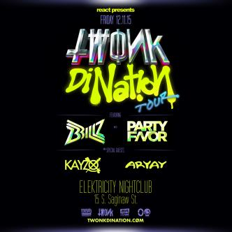 TWONK DiNATION TOUR featuring BRILLZ & PARTY FAVOR-img
