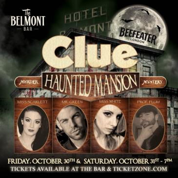 CLUE- Haunted Mansion Murder Mystery