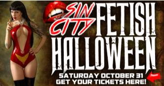 SIN CITY : FETISH HALLOWEEN!