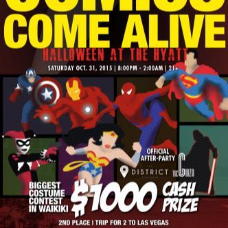 COMICS COME ALIVE - Halloween at the HYATT-img