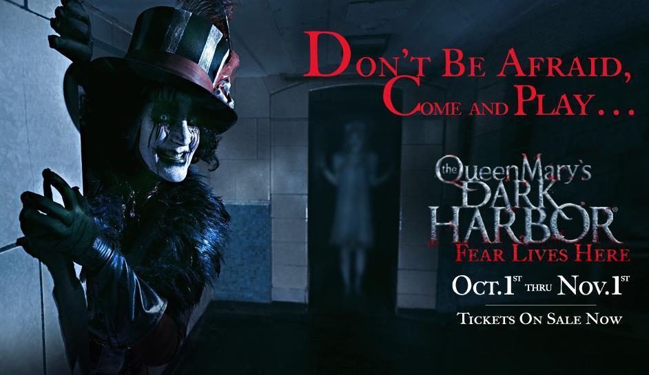 Queen Mary Halloween 2020 Buy Dark Harbor Tickets   Queen Mary   Halloween
