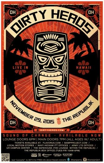 Dirty Heads - Oahu: