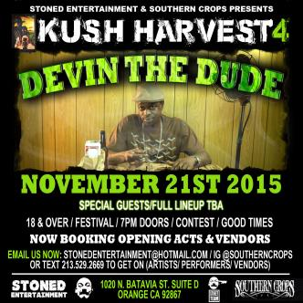 DEVIN THE DUDE PERFORMING LIVE AT 4TH ANNUAL KUSH HARVEST-img