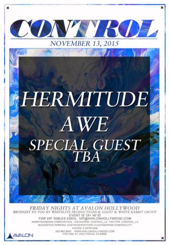 KCRW Presents: Hermitude, Awe, Plus Special Guest TBA: Main Image