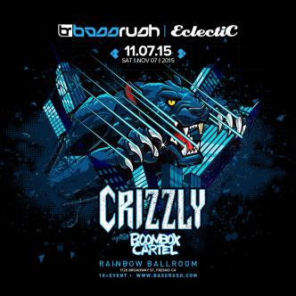 Bassrush Fresno Ft. Crizzly & Boom Box Cartel-img