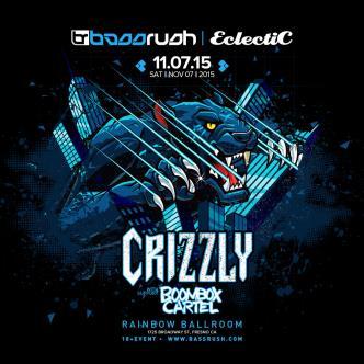 Bassrush Fresno Ft. Crizzly & Boom Box Cartel-img