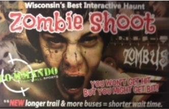 ZOMBIE SHOOT - SEPT/OCT 2016: Main Image