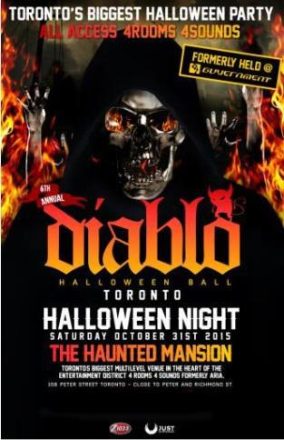 DIABLO Toronto 2015 - Halloween Night