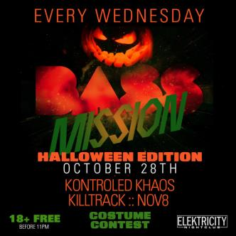 BASS MISSION: HALLOWEEN EDITION 18+ FREE BEFORE 11PM-img