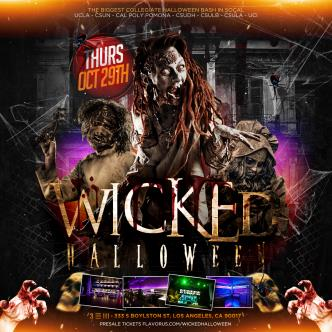 Wicked Halloween Los Angeles 18+-img