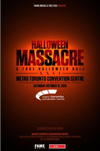 Halloween Massacre at Metro Toronto Convention Centre - Sout