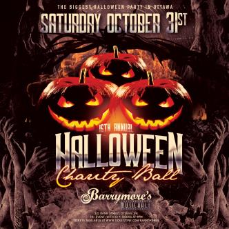 Barrymores Annual Halloween Charity Ball