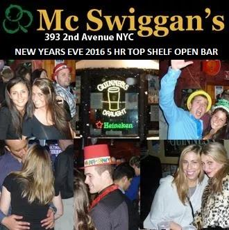 McSwiggans NYC New Years 2016