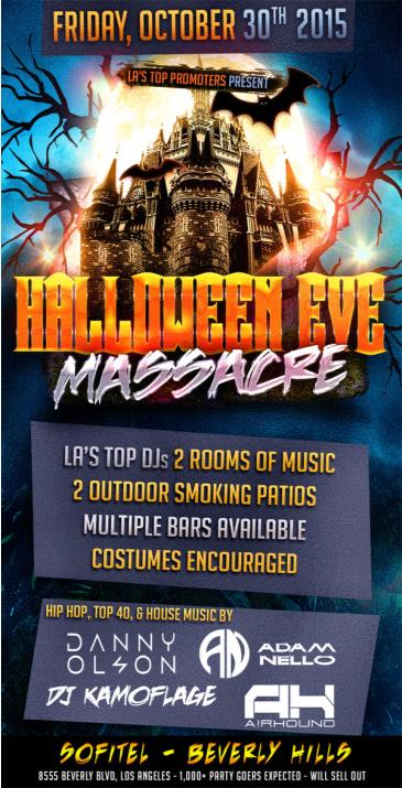 HALLOWEEN EVE MASSACRE