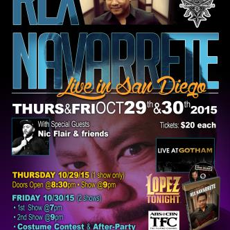 Rex Naverette - Live in SD! Friday 2nd Show-img